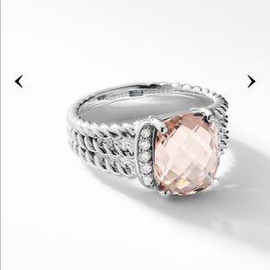Gorgeous David Yurman Petite Wheaton Ring sz9